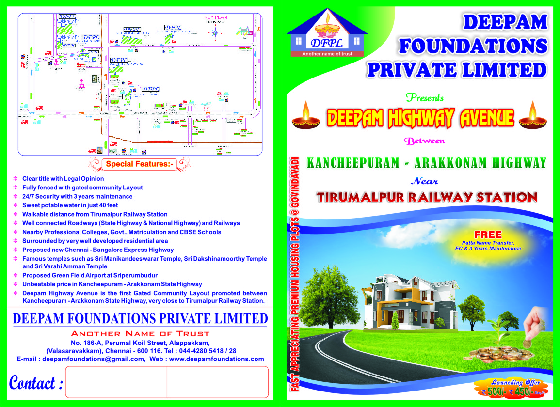Deepam foundation Highway Avenue Brochure